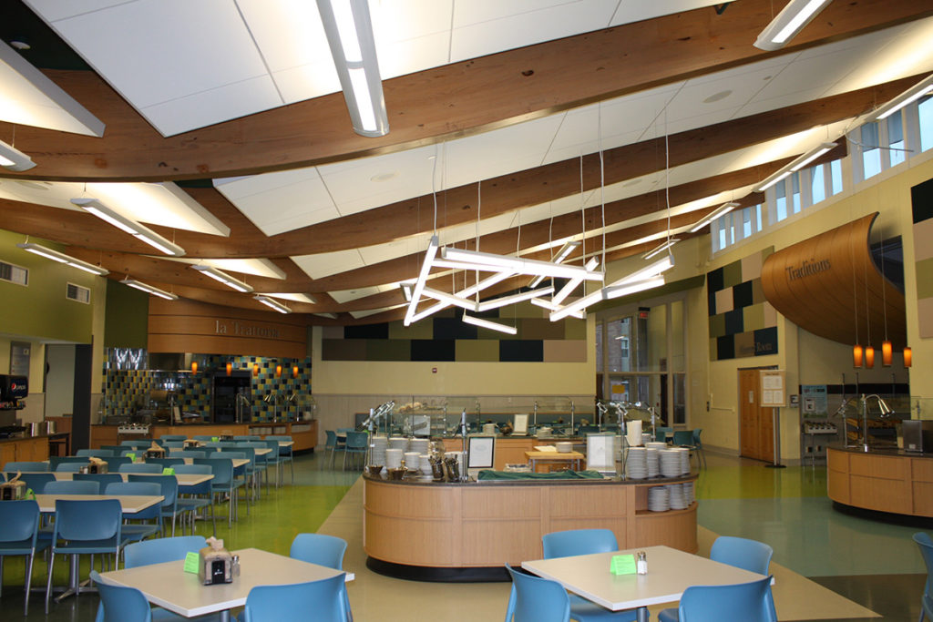 Castleton State College Huden Dining Hall Projects H P