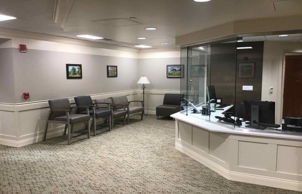 Foley Cancer Center waiting room