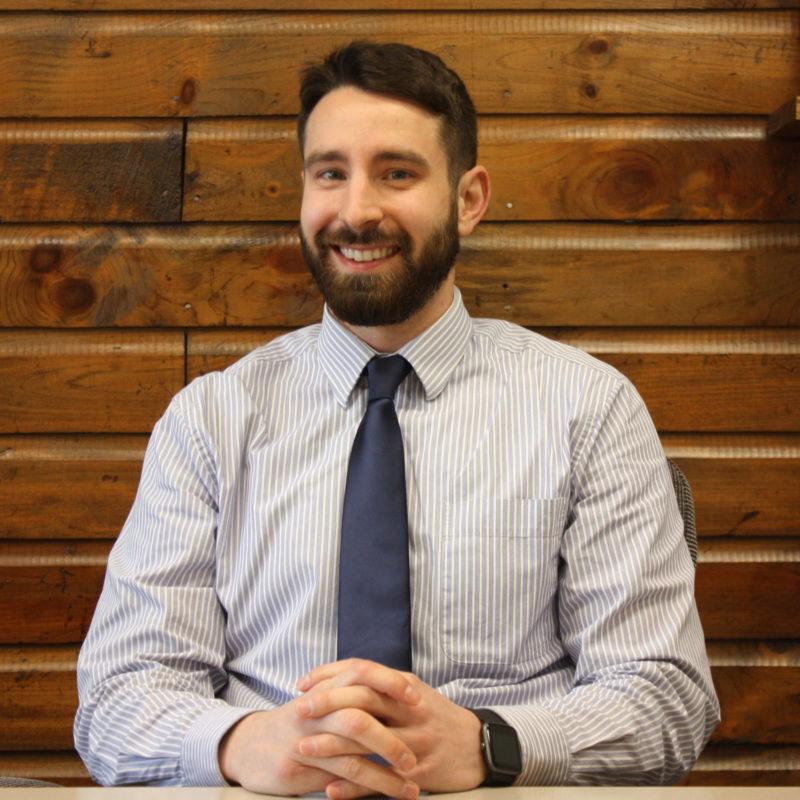 Portrait of Zach Denekas